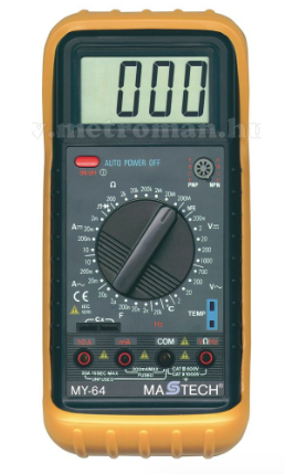 digitális multiméter MY-64