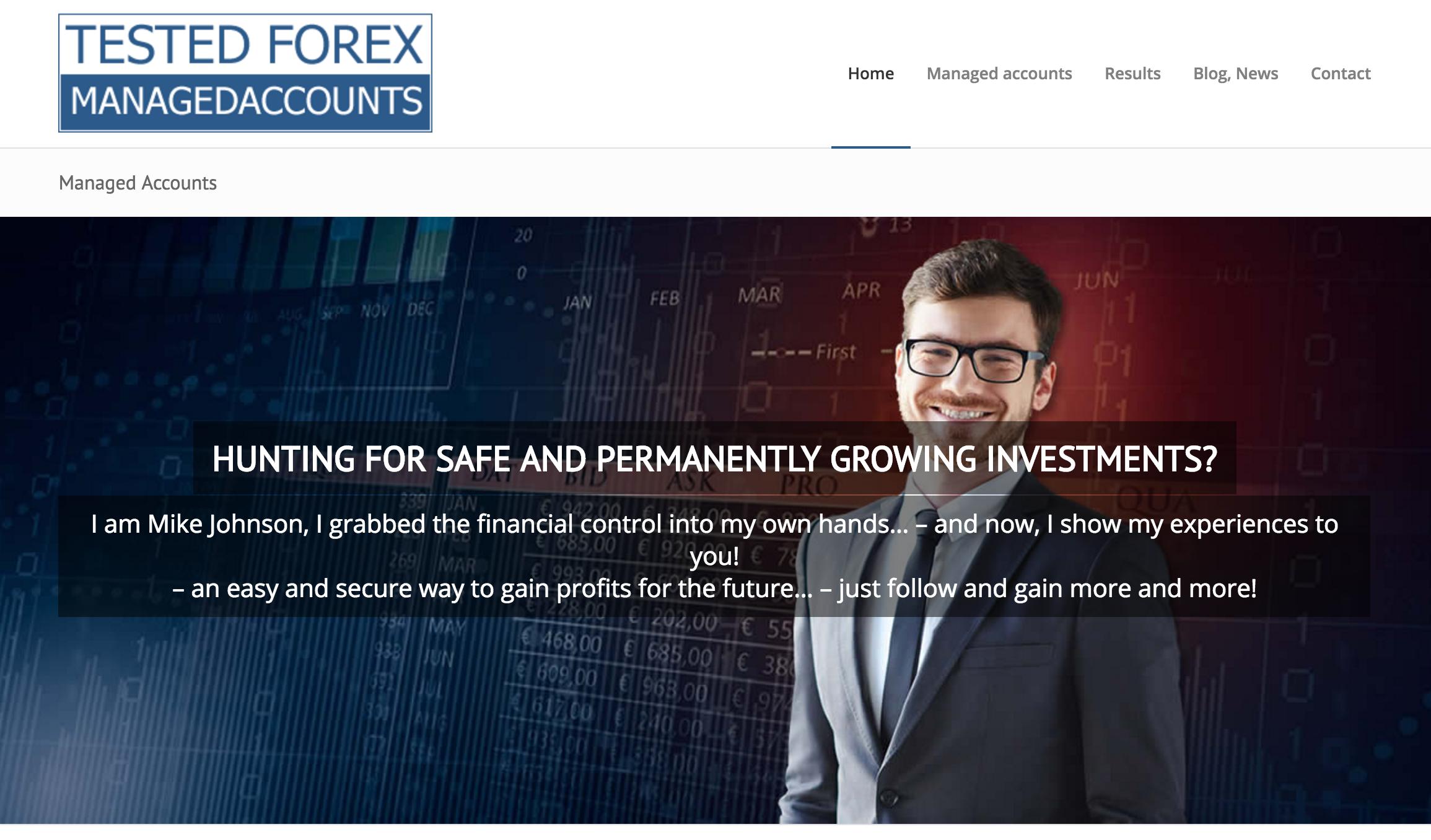 Forex managed accounts singapore